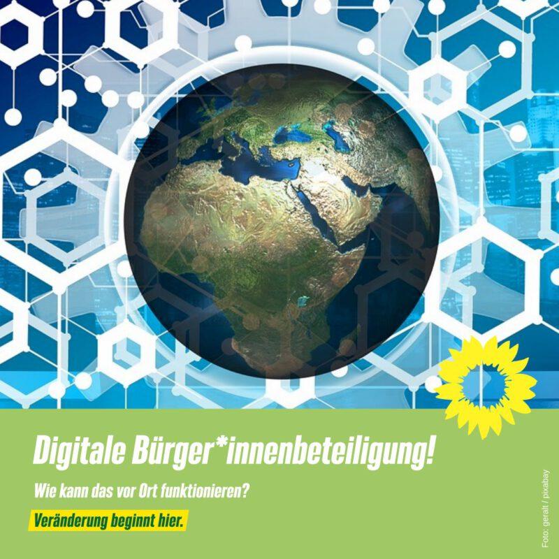 Digitale Bürger*innenbeteiligung