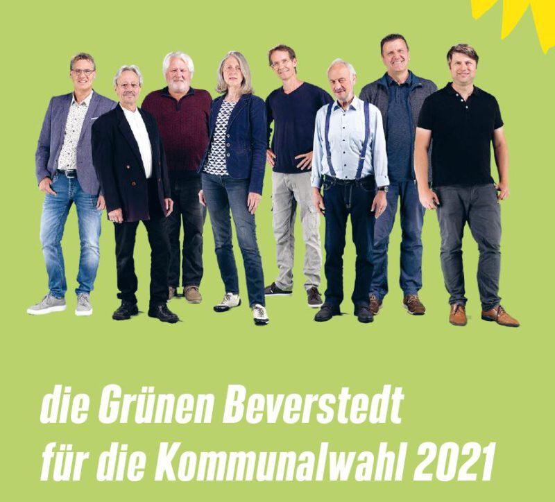 Flyer für die Kommunalwahl